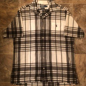 Men's Polo Ralph Lauren Short Sleeve Dress Shirt